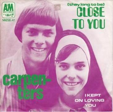 カーペンターズ、初の全米1位獲得曲「(They Long To Be) Close To You」