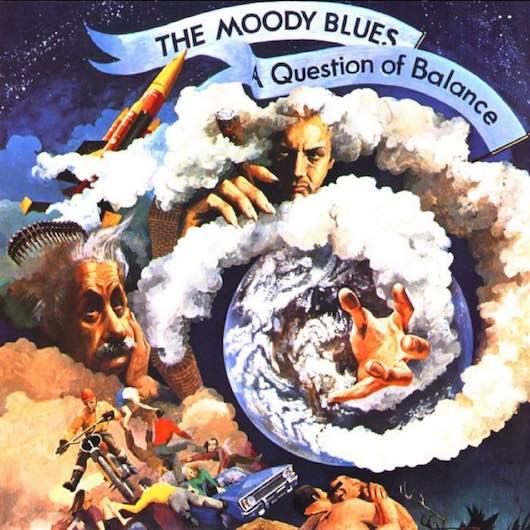 1970年夏 3週1位を記録したムーディー ブルースの a question of