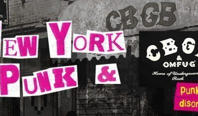 New York Punk And CBGB - with logo