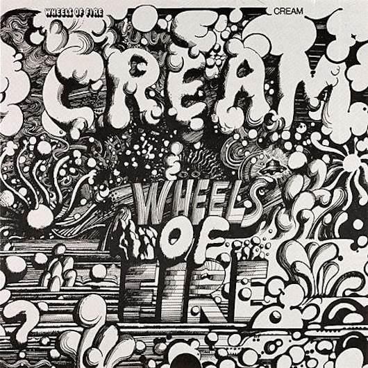 クリームの初の全米1位は2枚組の『Wheels Of Fire』