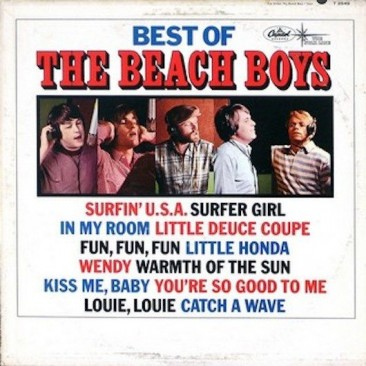 『Pet Sounds』の2か月後に発売されたビーチ・ボーイズ初のベスト盤『Best of the Beach Boys』