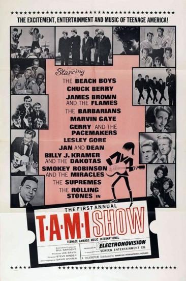 """ミックが""""ある意味、災難だったよ""""と語ったジェームス・ブラウンの後にストーンズが出演した「TAMI Show」"""