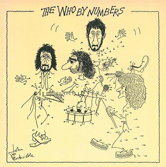 ザ・フー久しぶりの非コンセプト作『The Who By Numbers』はジョン・エントウィッスルのイラストを採用