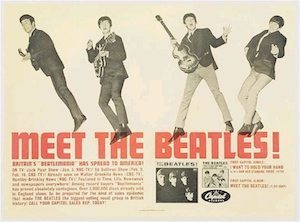Meet The Beatles ad
