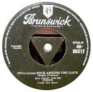 Rock Around The Clock UK single
