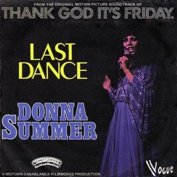 ドナ・サマーの「Last Dance」と初めてのグラミー賞