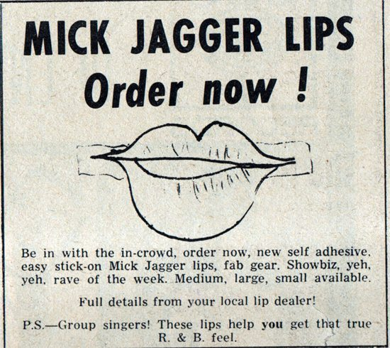 1964 Mick lips