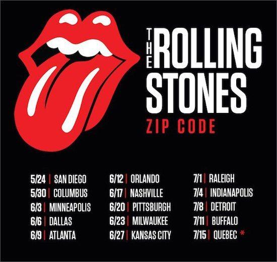 2015 Zip Code tour