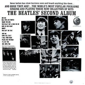 Beatles Second back-cover