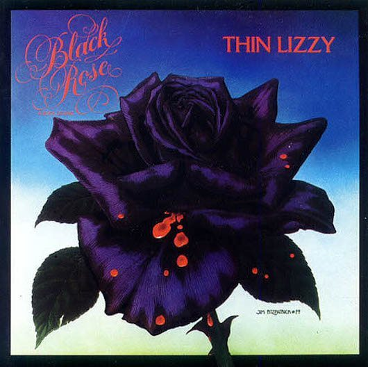 パリで『Black Rose』を摘んだシン・リジィ