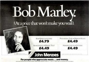 12週連続全英1位を記録したボブ・マーリーのベスト盤『Legend』が持つ伝説的記録の数々