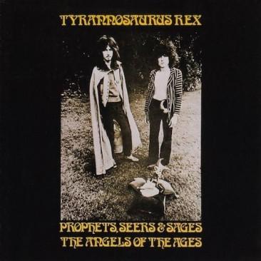 T.レックス大成功を受け、改名前ティラノザウルス・レックスの初期2枚のアルバムが全英1位を記録