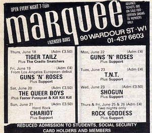 GNR Marquee
