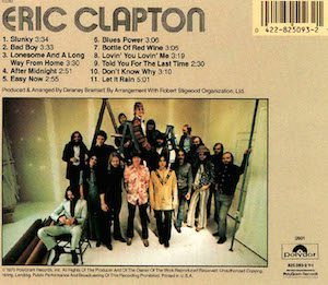 Clapton back cover