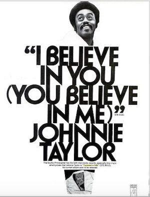 Johnnie Taylor I Believe