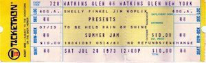 Summer Jam ticket