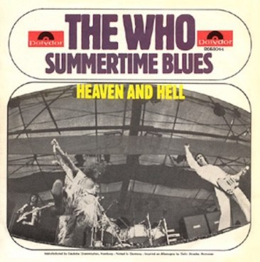 ザ・フー、エディ・コクラン「Summertime Blues」をライブ・シングルで発売