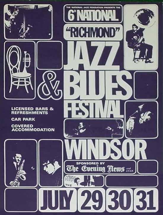 クリームやザ・フーなども出演した第6回ジャズ&ブルース・フェスティヴァル