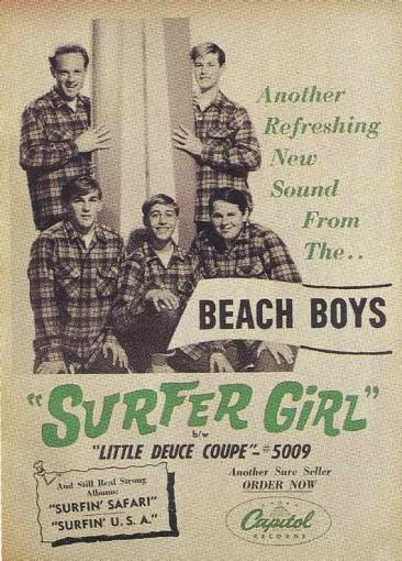 ビーチ・ボーイズが全米TOP10入りと波に乗った「Surfer Girl」