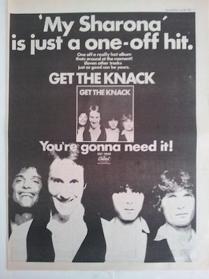 My Sharona ad