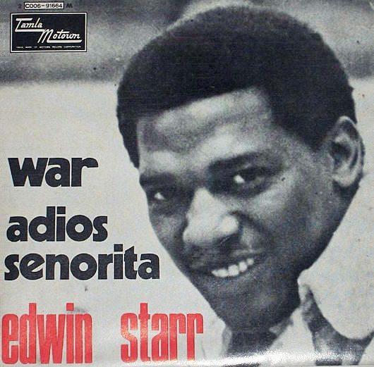 テンプテーションズの代わりに歌うことになったエドウィン・スターの反戦アンセム「War」