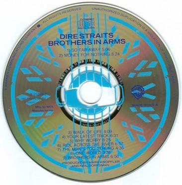 全米チャートで次々と1位を獲得する4番目の海外グループとなった1985年のダイアー・ストレイツ