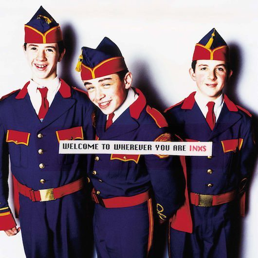 INXS、自身初の全英No.1アルバム『Welcome To Wherever You Are』