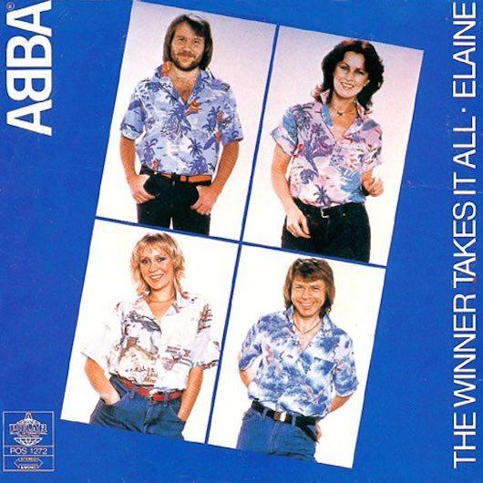 アバの8曲目の全英1位「The Winner Takes It All」と奇妙な動きの「SOS」