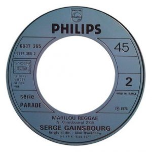 Serge Gainsbourg Ma Lou Marilou B-Side - edit