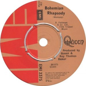 Bohemian Rhapsody Label