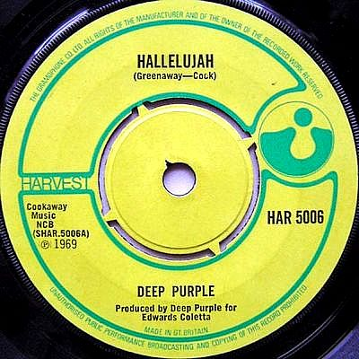 Deep Purple - Hallelujah (single)
