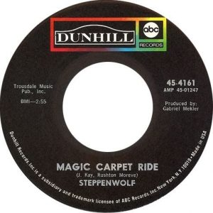 Magic Carpet Ride US Label