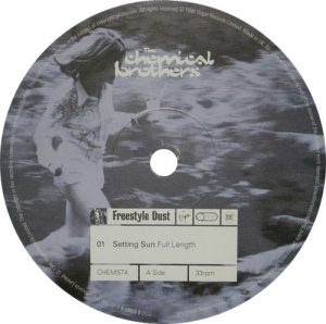 Chemical Brothers - Setting Sun Label