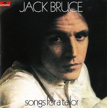 1960年代の終わりにイギリスが生んだ傑作アルバム、ジャック・ブルース『Songs For A Tailor』