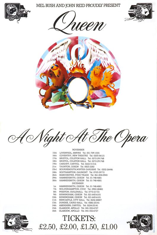 Queen ANATO Poster