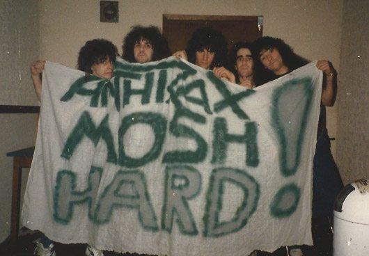 Anthrax - Spreading The Disease Era