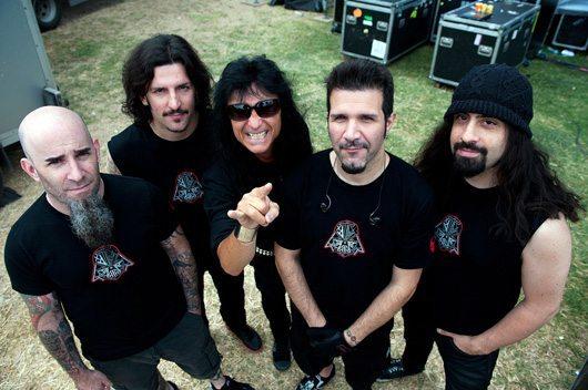 Anthrax circa Worship Music