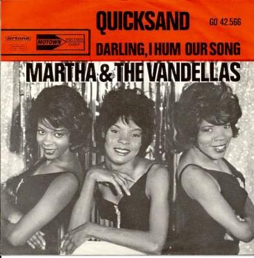 大ヒットを記録したマーサ&ザ・ヴァンデラス第3弾シングル「Quicksand」