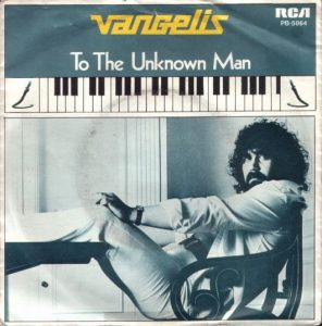 To The Unknown Man Single Picture Sleeve