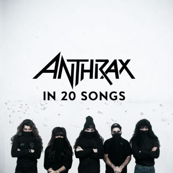 Anthrax In 20 Songs Artwork
