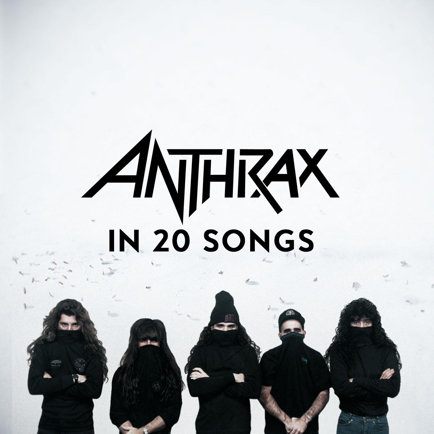 Anthrax In 20 Songs Artwork