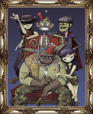 Gorillaz - Family Framed
