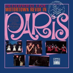 Motortown Revue In Paris Cover