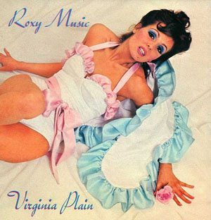 Roxy Music - Virginia Plain Picture Sleeve - cropped