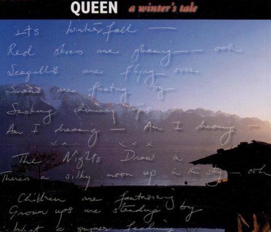 23曲目のトップ10入りとなった1995年、クイーンの「A Winter's Tale」