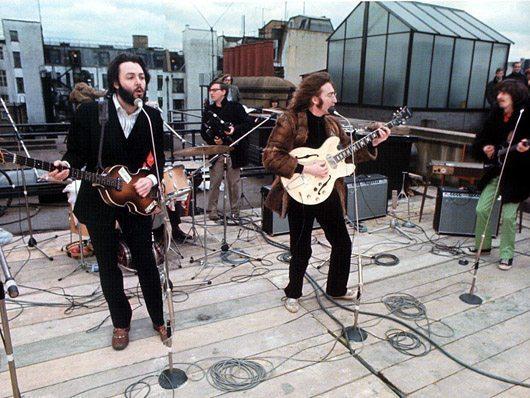 ザ・ビートルズのAppleルーフトップ・ライヴでの「Don't Let Me Down」