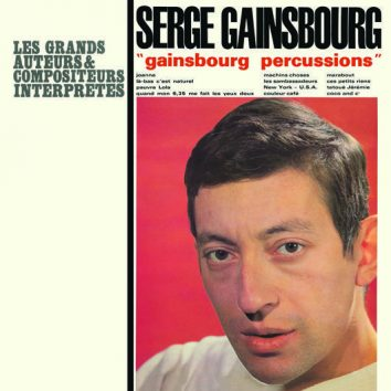 Serge Gainsbourg Gainsbourg Percussions Sleeve 1964