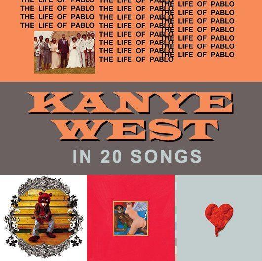 カニエ・ウェストの20曲:ヒップホップ界で最も人を引き付けるアーティスト