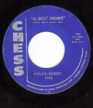 Chuck Berry-Almost Grown