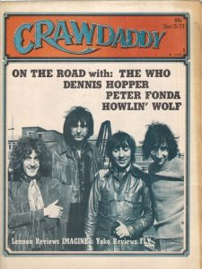 Crawdaddy Dec 1971 The Who cover